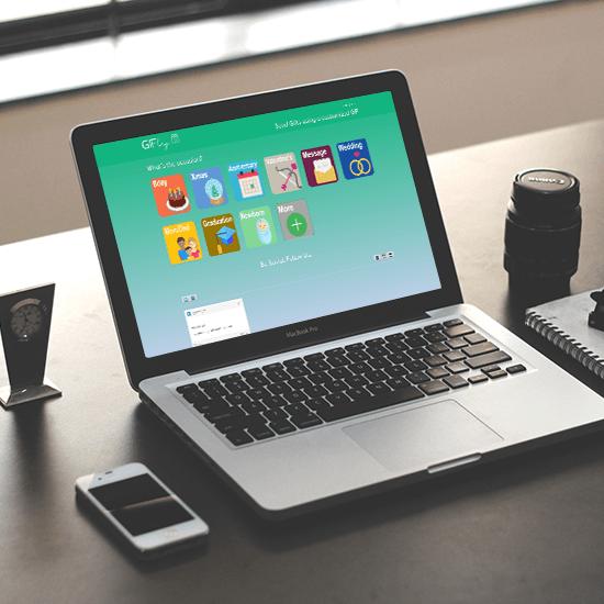 SendAGifty – GIF Creator Solution